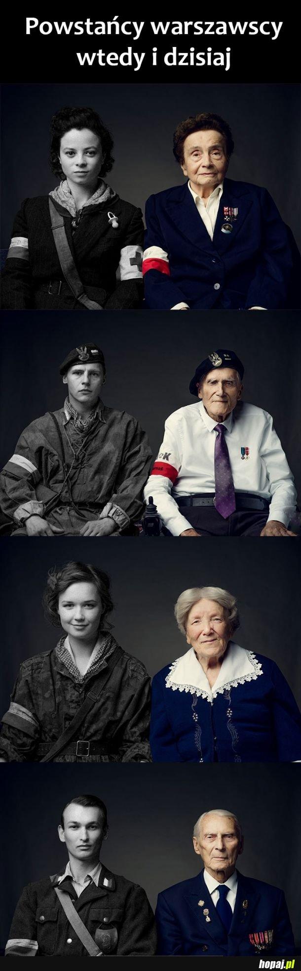 Powstańcy kiedyś i dziś