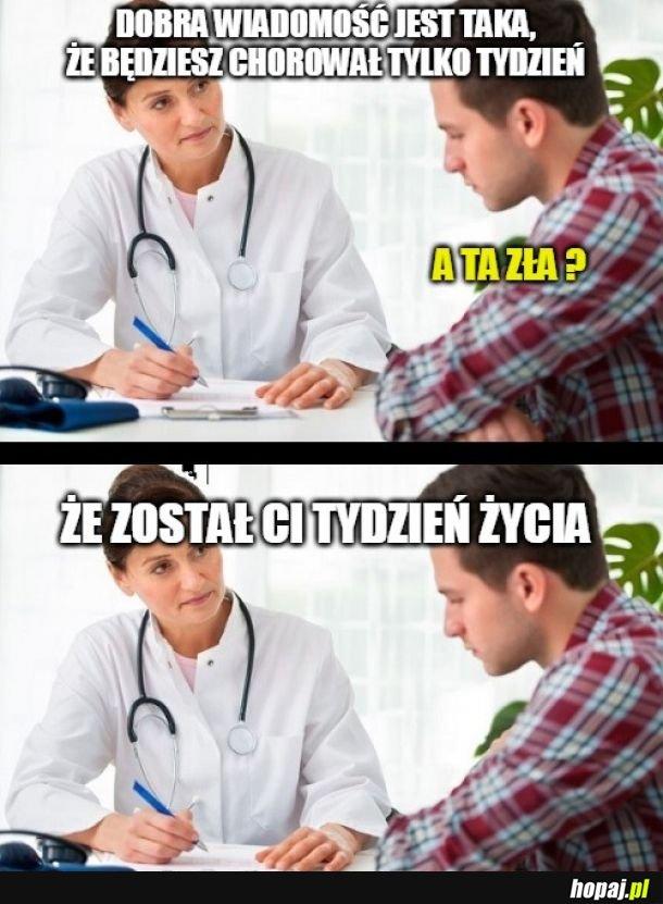 Choroba na tydzień