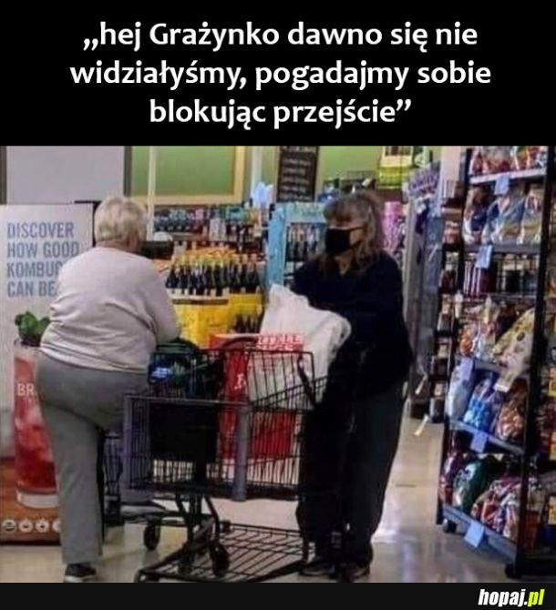 Grażynki w sklepie