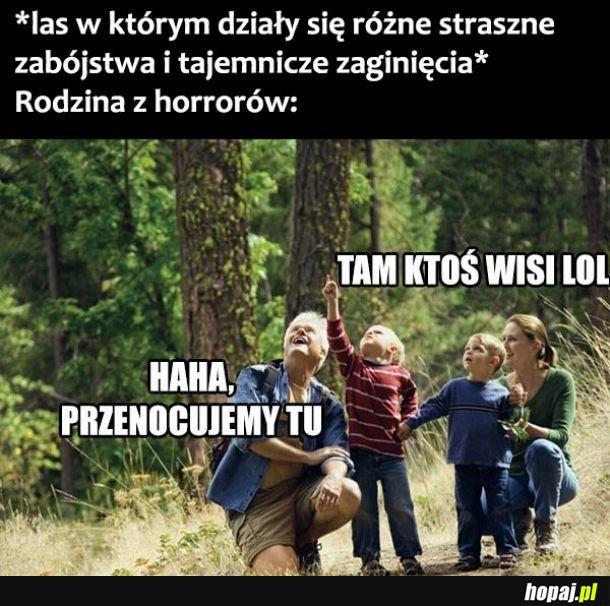 Rodziny w horrorach
