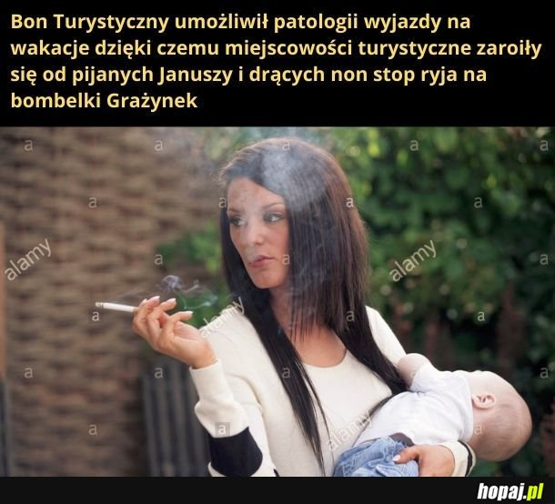Pijaństwo, tanie szlugi, wrzaski i przekleństwa, czyli urlop w Polsce
