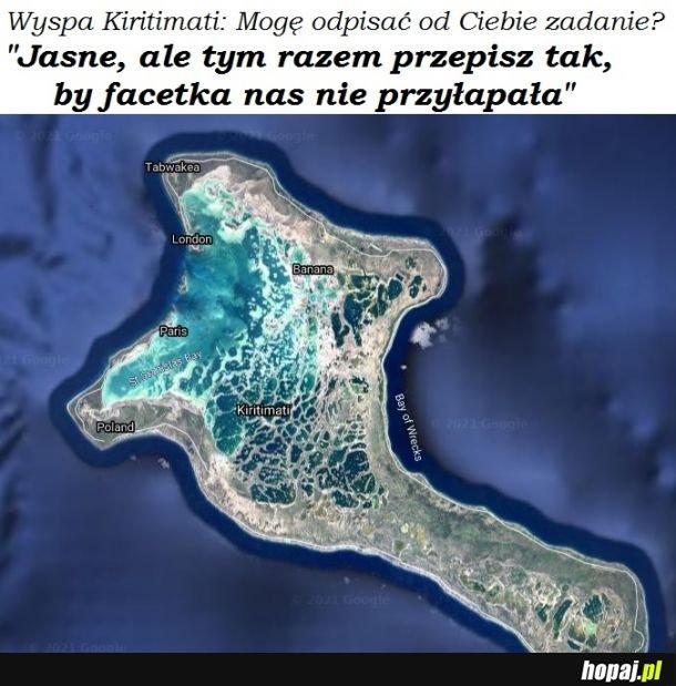 Wyspa Kiritimati