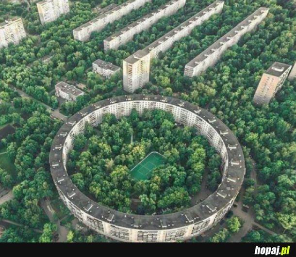Osiedle w Moskwie