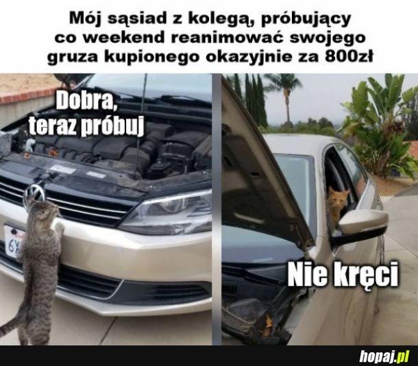 Reanimacja samochodu
