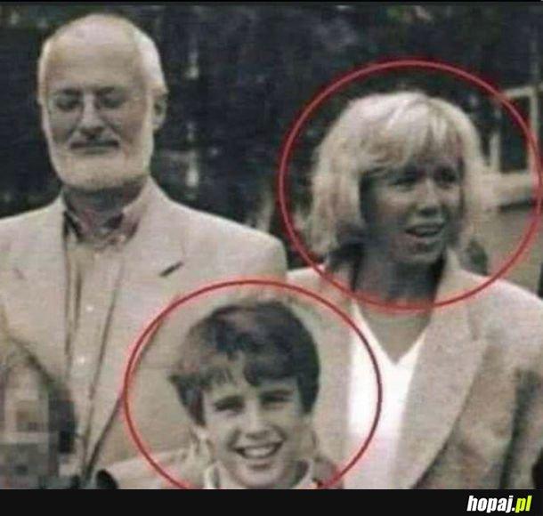 Macron ze swoją nauczycielką, teraz żoną