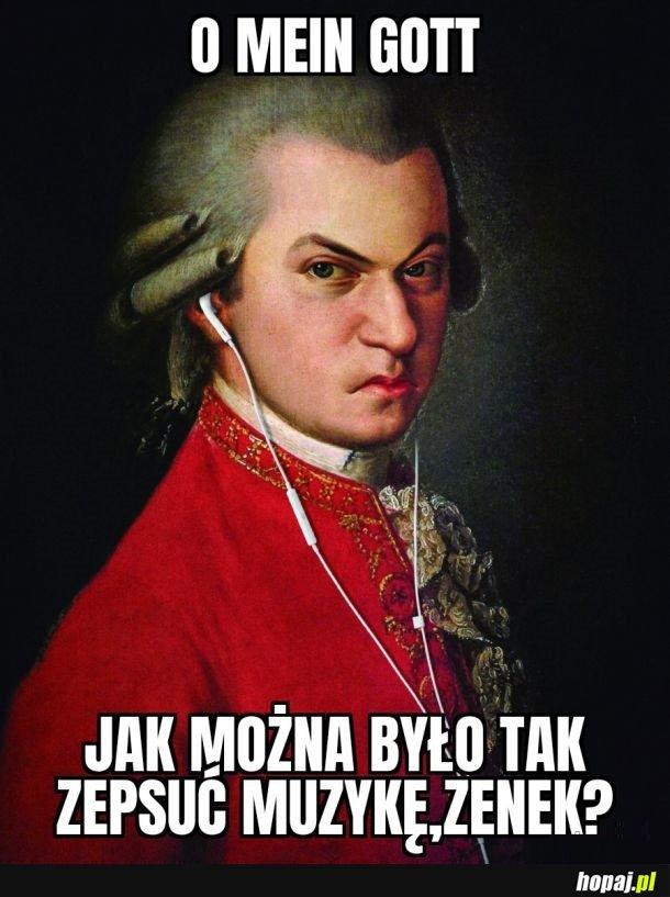 Mozart jest zdegustowany