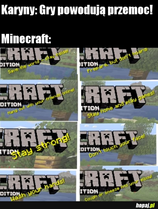 Minecraft is bae