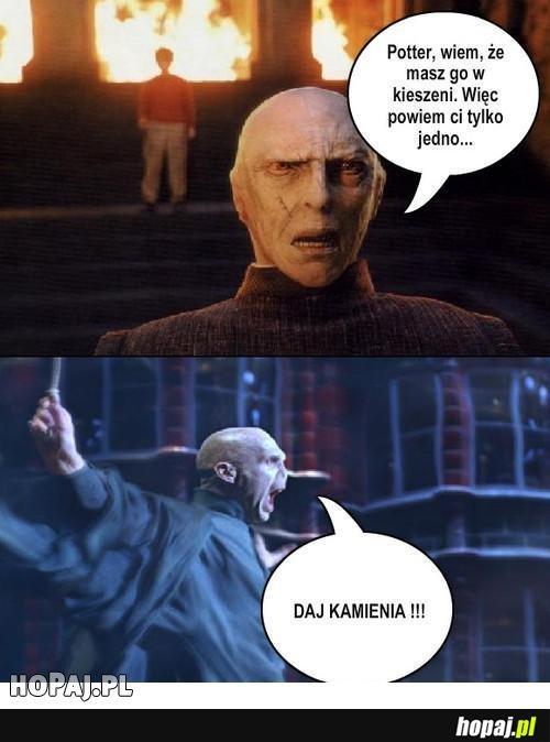"""Harry Potter i """"Daj Kamienia"""""""