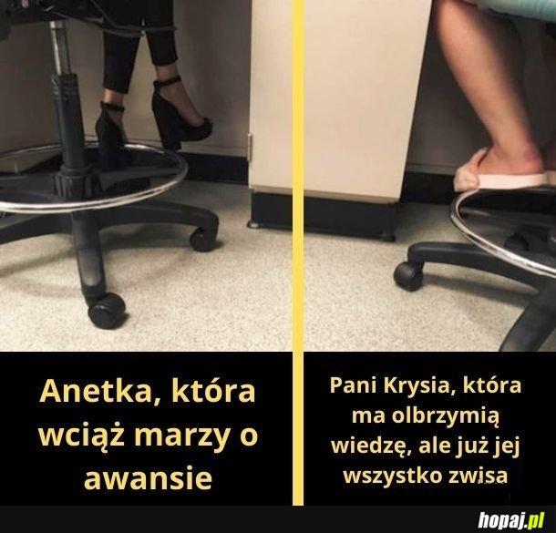 Dwa typy pracownic
