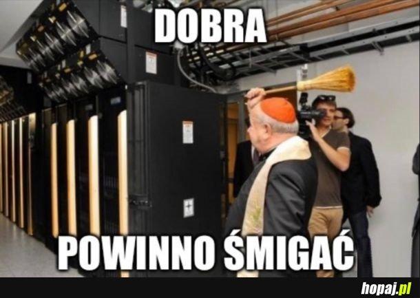 W Polszcze ta awaria nigdy by nie miała miejsca
