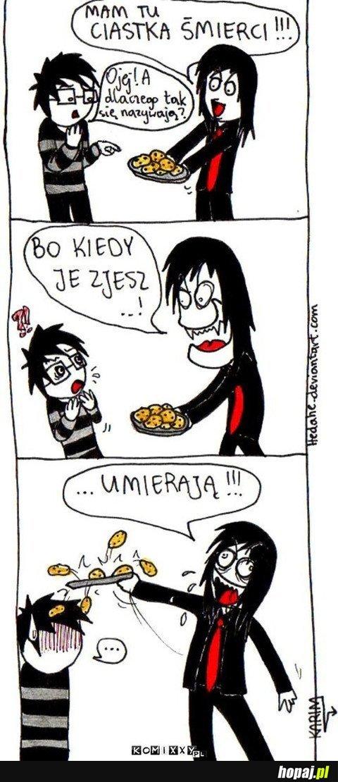 Ciastka śmierci