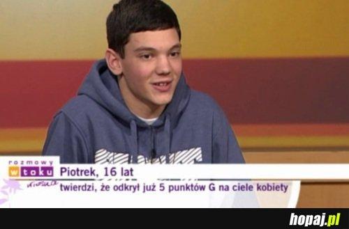 Piotrek, 16 lat