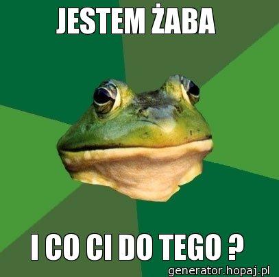JESTEM ŻABA