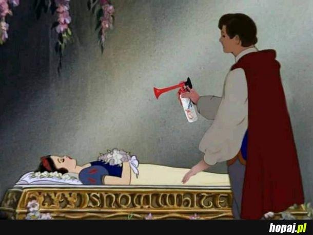 Jak poprawnie obudzić Królewnę Śnieżkę