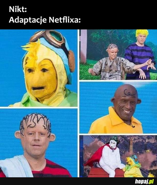 Adaptacje Netlixa