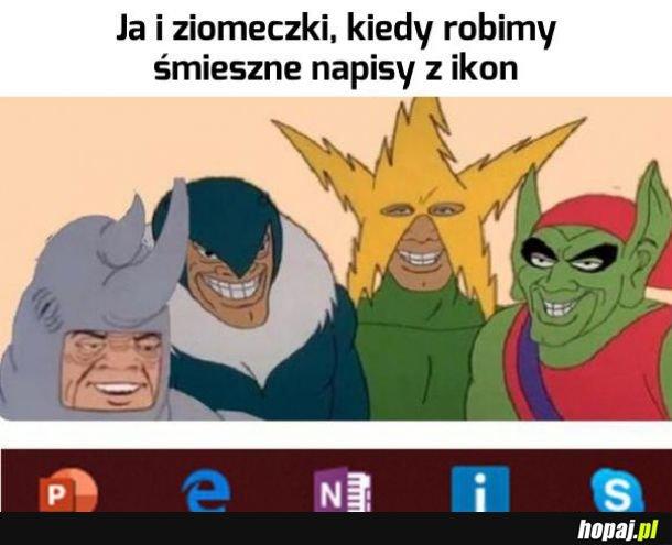 Haha b..