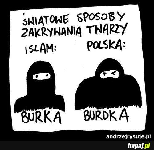 Burka vs Burdka ;)