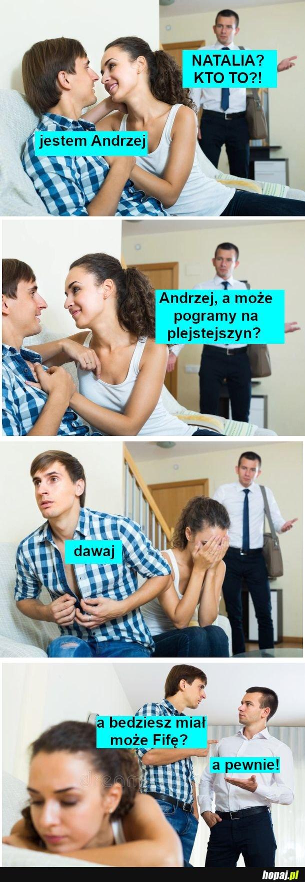 Natalia i Andrzej