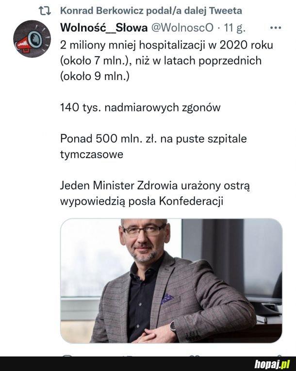 Urażona duma Ministerka najważniejsza