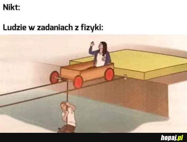Zadania z fizyki