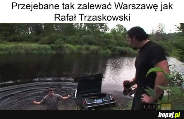 Zalana Warszawa