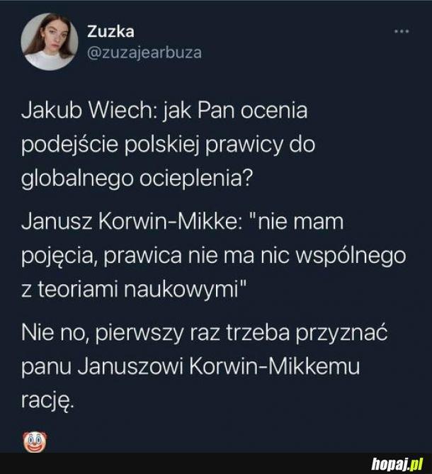 Ozjaszek w końcu coś powiedział z sensem!