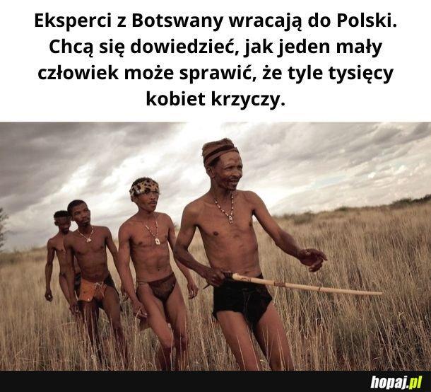 Eksperci z Botswany