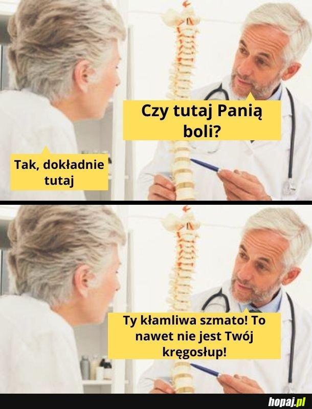 Chciała oszukać lekarza
