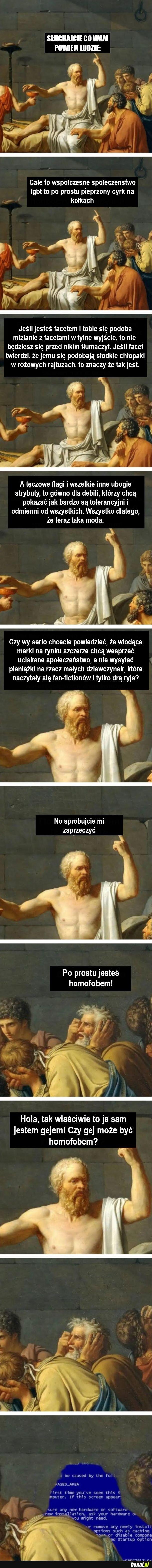 Sokrates mądrze prawi
