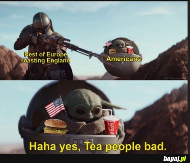 """Tea """"people""""."""