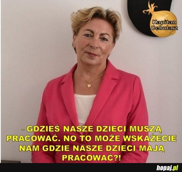 Co powiedziała Anna Cicholska, kiedy zapytano ją o nepotyzm w spółkach Skarbu Państwa
