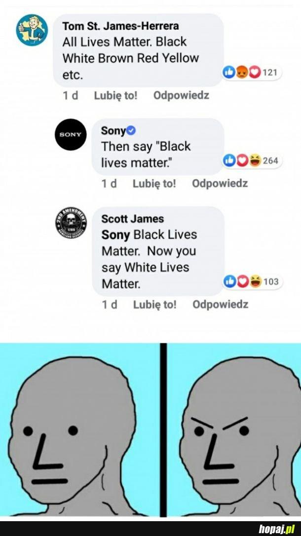 Rasizm? Jak najbardziej, ale tylko wymierzony w białych!