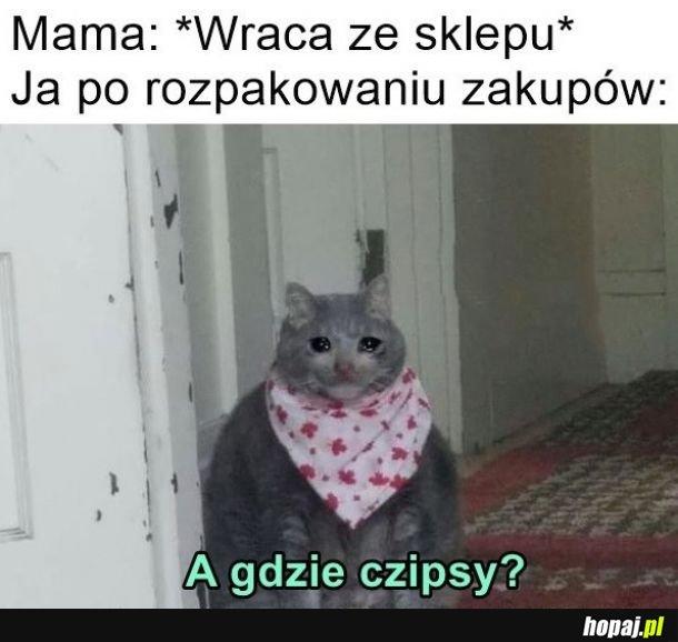 Mamo, głodnym