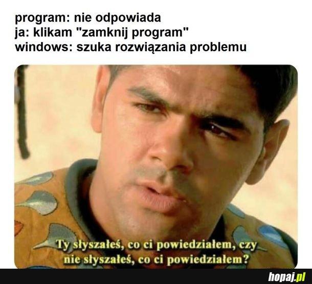 Windows taki jest