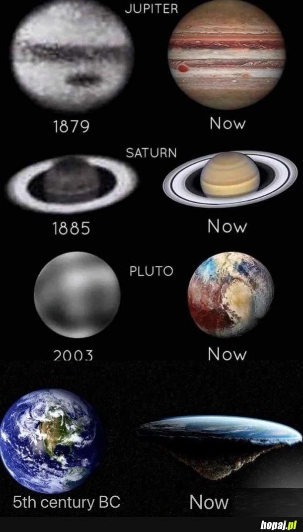 Coraz lepsze zdjęcia kosmosu