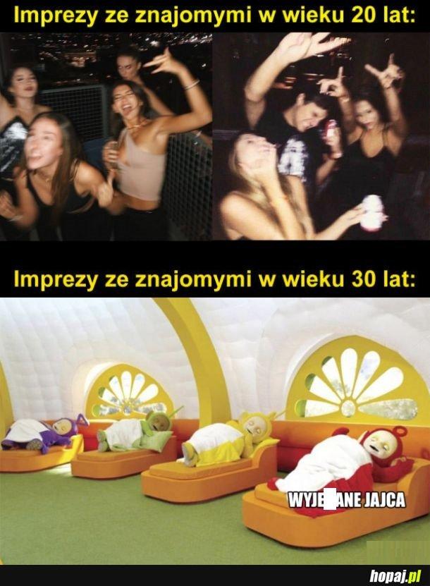 Imprezy na stare lata