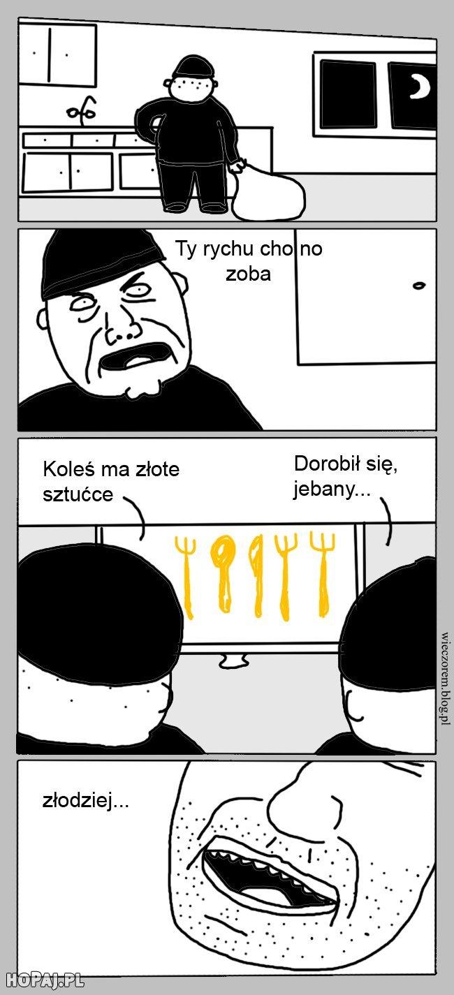 Krótkie podsumowanie polskiej mentalności :D