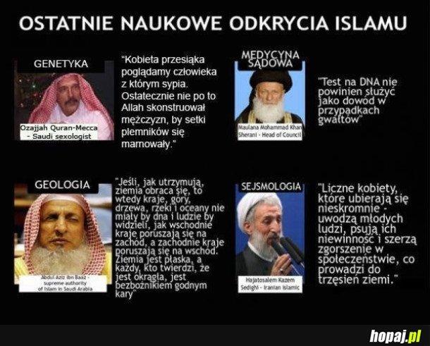 ISLAM KROCZY PRZODEM